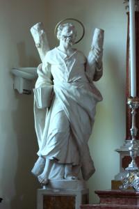 Statua di Sant'Andrea, Basiliano
